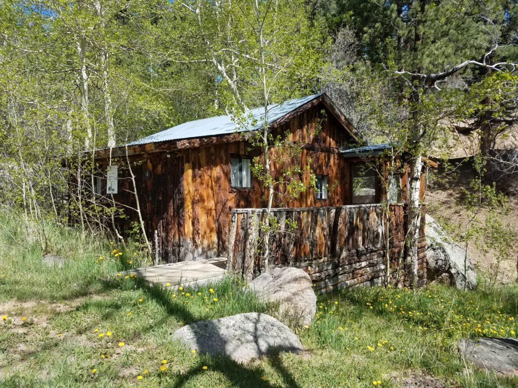 Cabin 4 - The Honeymoon Cabin - The Lodge at San Isabel Cabin Rentals Rye Colorado