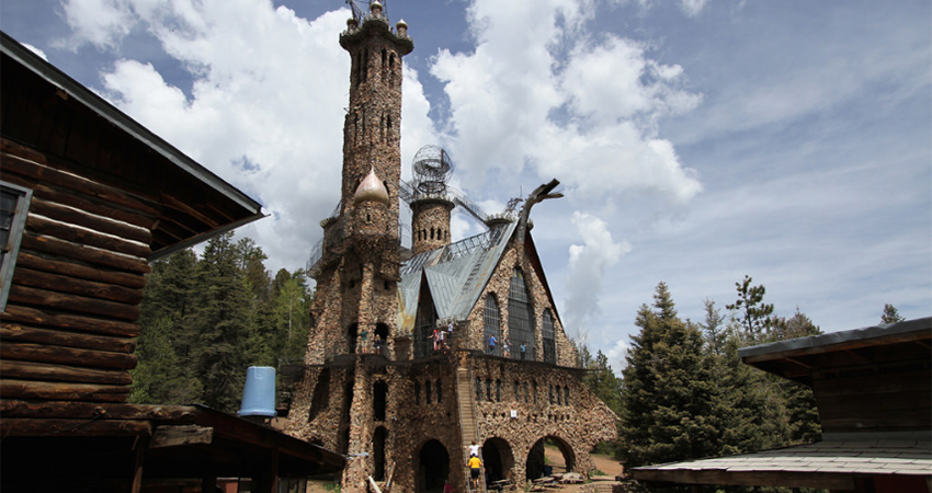 Rye Colorado - Local Attractions Bishop Castle