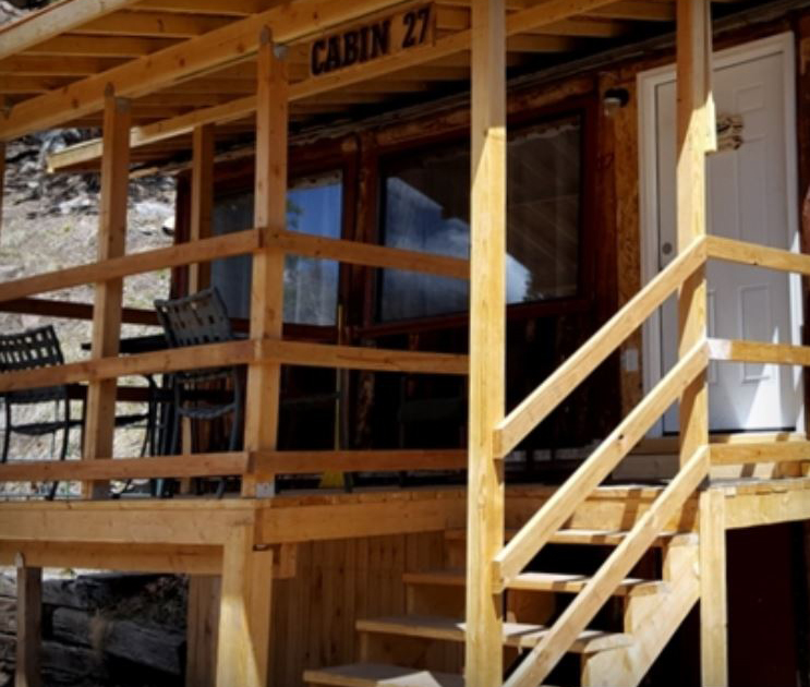 Cabin 27 - Honeymoon Cabin - The Pine Lodge - San Isabel Lake - Rye Colorado