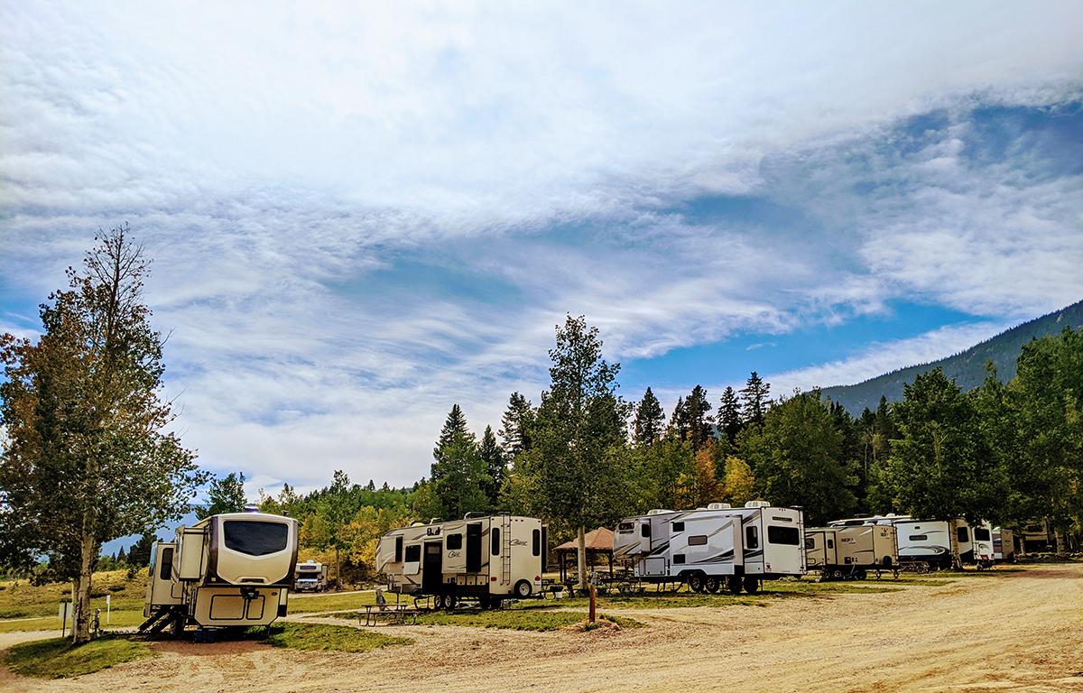 Aspen Acres Campground - Rye Colorado - Cabins - Tents - RV's
