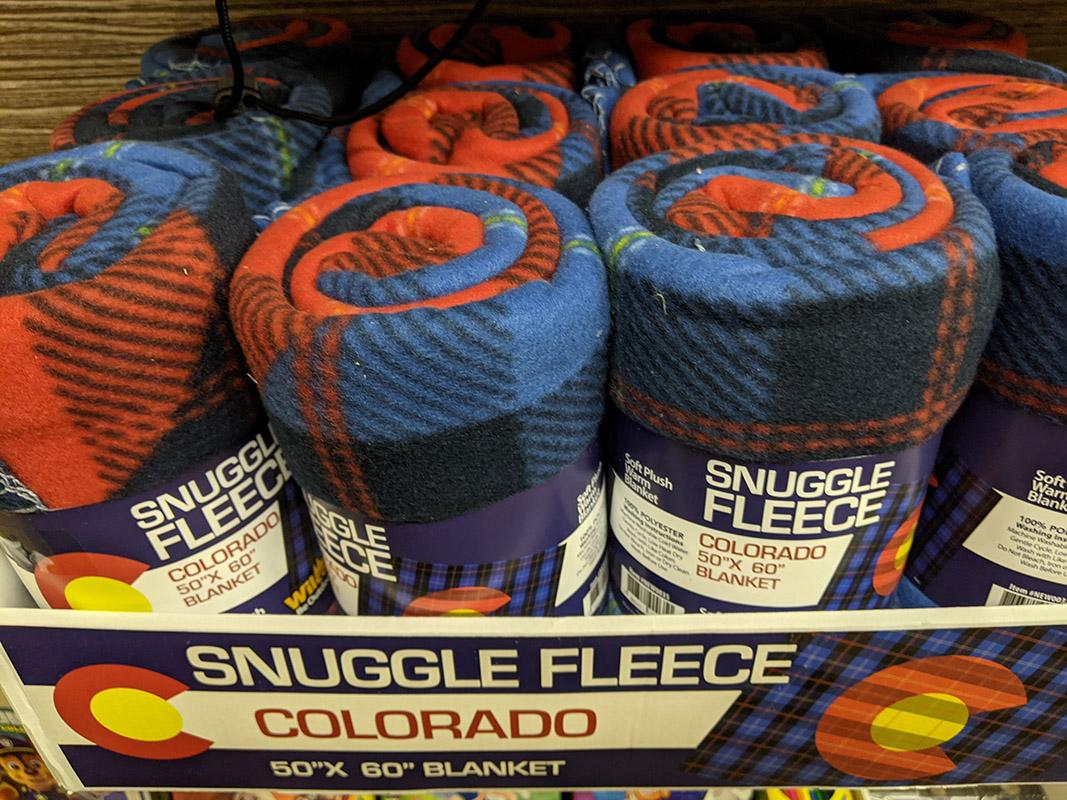 San Isabel Lake Colorado Fleece Blanket
