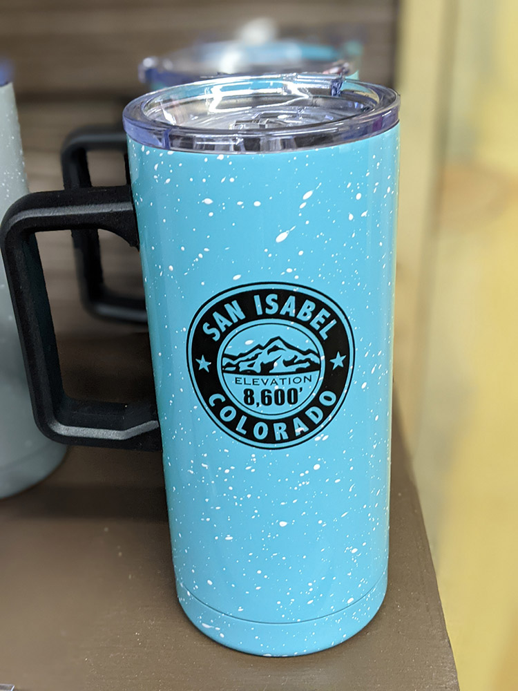 San Isabel Lake Colorado - Coffee Cups