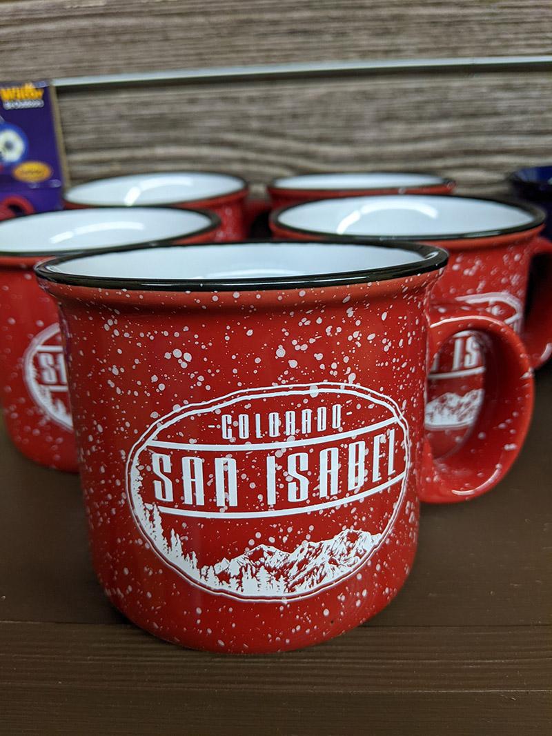 San Isabel Lake Colorado - Coffee Mugs