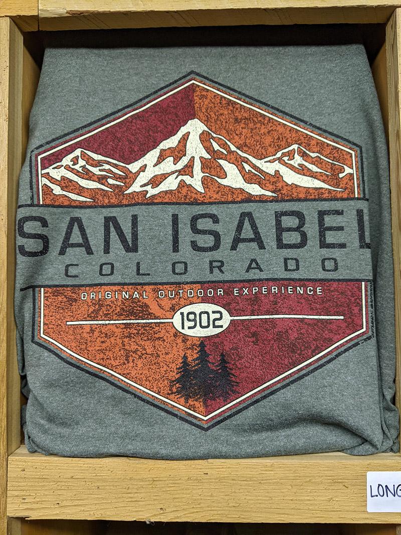 San Isabel Lake Colorado - T-Shirts