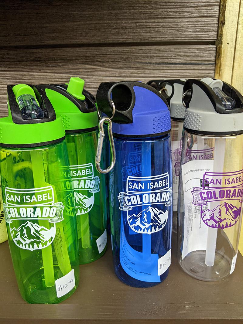 San Isabel Lake Colorado - Water Bottles